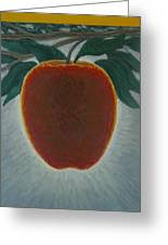 Apple 2 In A Series Of 3 Greeting Card