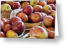 Apple Baskets Greeting Card
