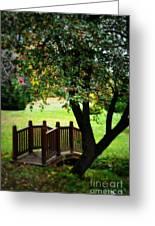 Apple Bridge Greeting Card