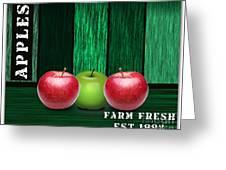 Apple Farm Greeting Card