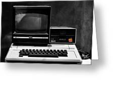Apple II Personal Computer 1977 Greeting Card by Bill Cannon
