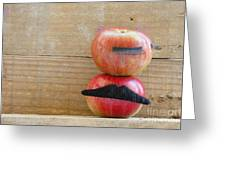 Apple Over Apple Greeting Card