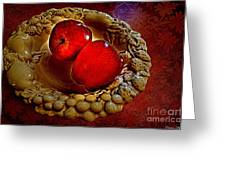 Apple Still Life 2 Greeting Card
