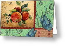 Apple Tapestry-jp2203 Greeting Card