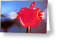 Apple Greeting Card