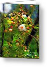 Apple Tree In April Greeting Card