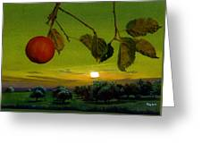 Apple Trees Greeting Card