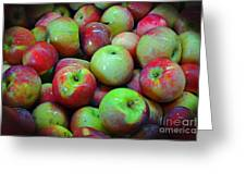Apples Apples And More Apples Greeting Card