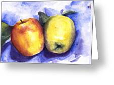 Apples Paired Greeting Card