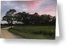 Appleton Sunset Greeting Card