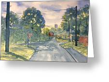 Approach To Kilham Greeting Card