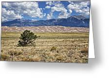 Approaching Great Sand Dunes #2 Greeting Card