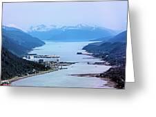 Approaching Juneau Greeting Card