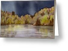 Approaching Rain Greeting Card