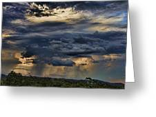 Approaching Storm Greeting Card by Douglas Barnard