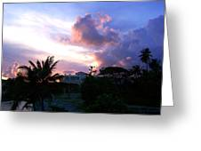 Approaching Storm Palmas Del Mar Greeting Card