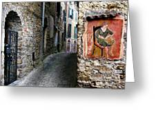Apricale.italy Greeting Card
