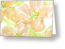 Apricot Quince Greeting Card