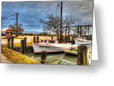 April Dawn Poquoson Virginia Greeting Card