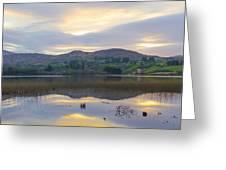 April In Donegal - Lough Eske Greeting Card