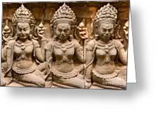 Apsara - Angkor Wat Greeting Card