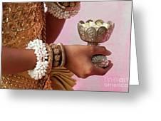 Apsara Dancer 01 Greeting Card