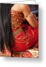 Apsara Dancer 03 Greeting Card