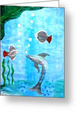 Aqua Life Greeting Card