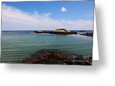 Aqua Waters  Greeting Card