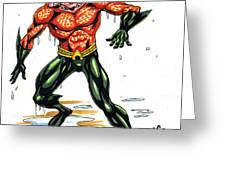 Aquaman Greeting Card