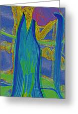Aquarius By Jrr Greeting Card by First Star Art