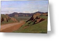 Aqueduct Greeting Card
