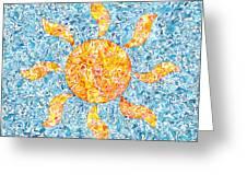 Aqueous Sol Ocean  Greeting Card