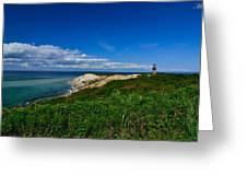Aquinnah Cliff Greeting Card