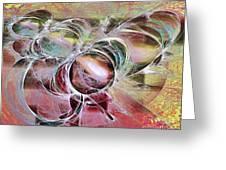 Arabesque Design Greeting Card