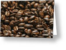 Arabica Beans Greeting Card