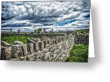 Aran Island Cemetary Ireland Greeting Card