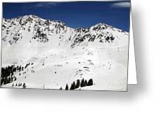 Arapahoe Basin Ski Resort - Colorado          Greeting Card