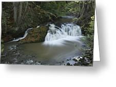 Arbirlot Waterfall Arbroath Greeting Card