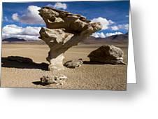 Arbol De Piedra Greeting Card