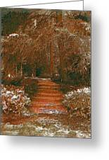 Arbor Steps Greeting Card