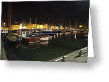 Arbroath Harbour Greeting Card