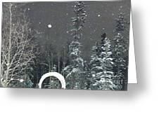 Arc De Neige  Greeting Card