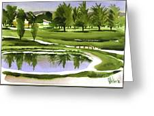 Arcadia Valley Country Club Dramatic Greeting Card