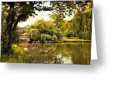 Arcadian Splendor Greeting Card