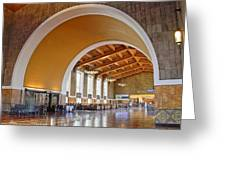 Arch At La Union Station Greeting Card