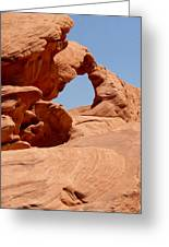 Arch At Valley Of Fire State Park Greeting Card