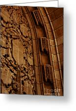 Arch Details Greeting Card