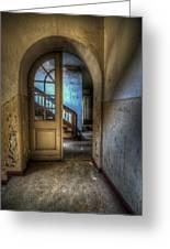 Arch Door Greeting Card