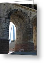 Arch In Arch Greeting Card